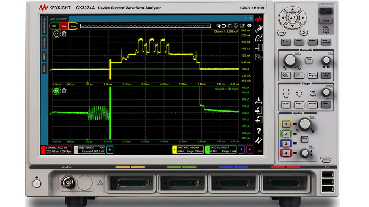 Precision IoT Power Consumption Measurements Using a Device Current Waveform Analyzer