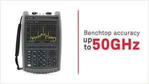 Field Test Keysight Rf Multi Measurement Signal Analyzer Fieldfox Handheld And Microwave Analyzers