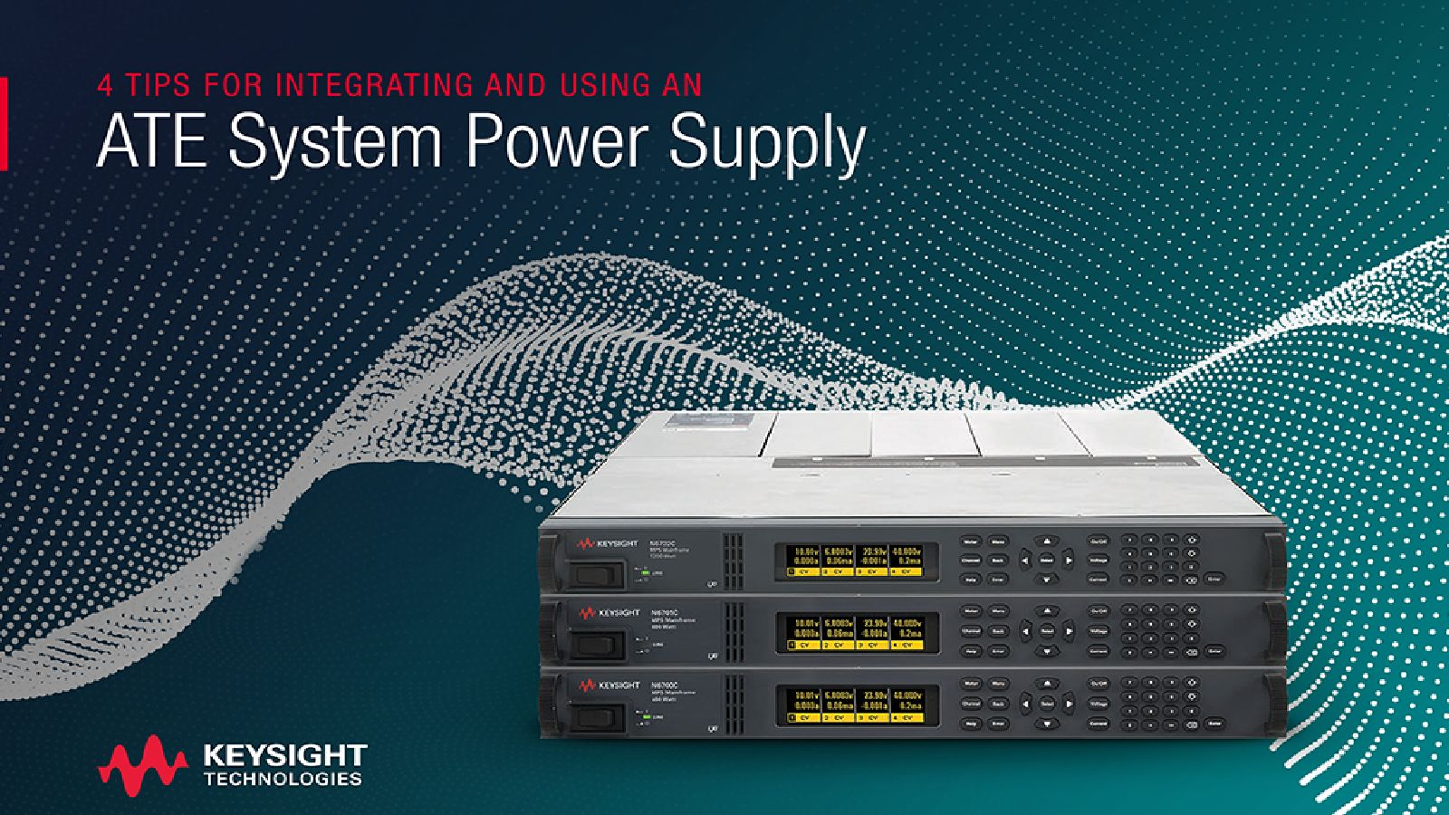 Four Tips for Integrating and Using an ATE System Power Supply