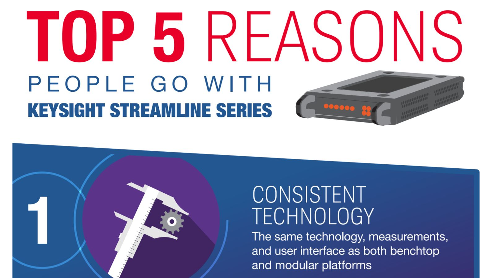 Top 5 Reasons People Go With Keysight Streamline Series