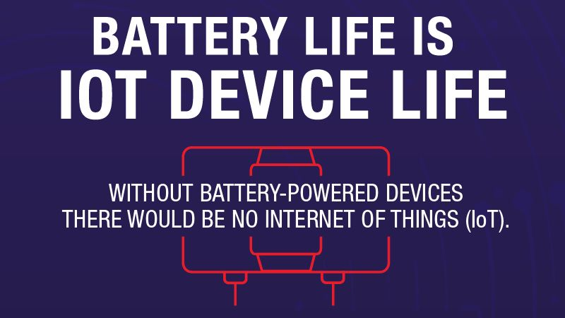 Battery Life IS IoT Device Life
