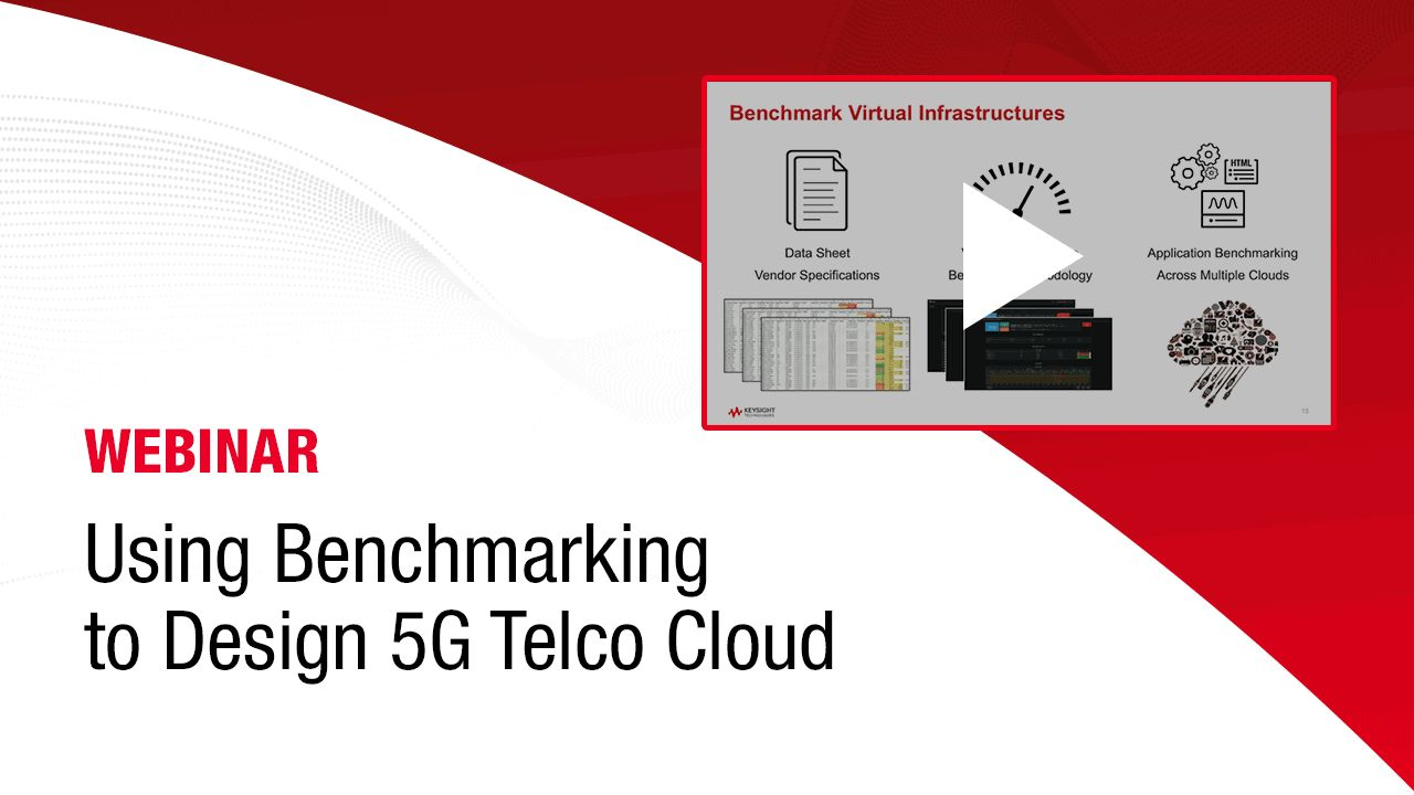 Using Benchmarking to Design 5G Telco Clouds