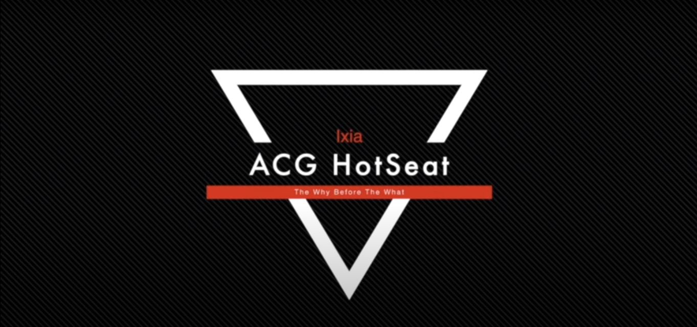 ACG HotSeat: Ixia, Delivering Cloud Visibility and Value With CloudLens