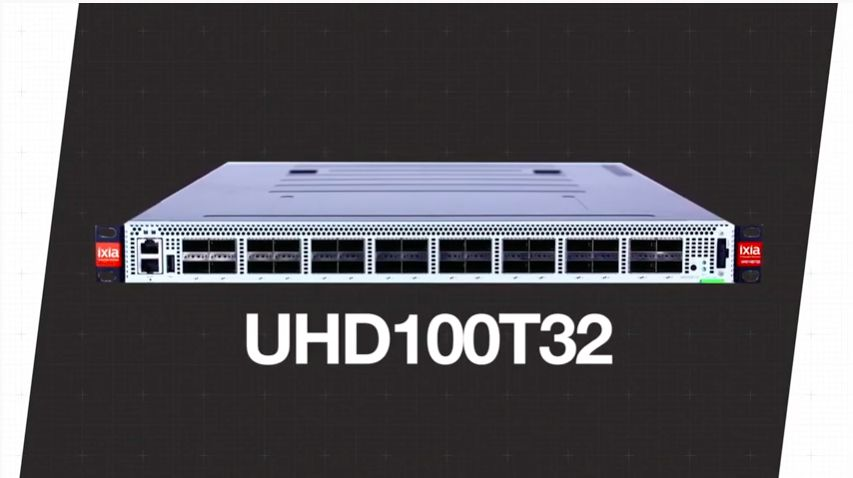 UHD100T32 32-Port 100GE Test Solution Introduction