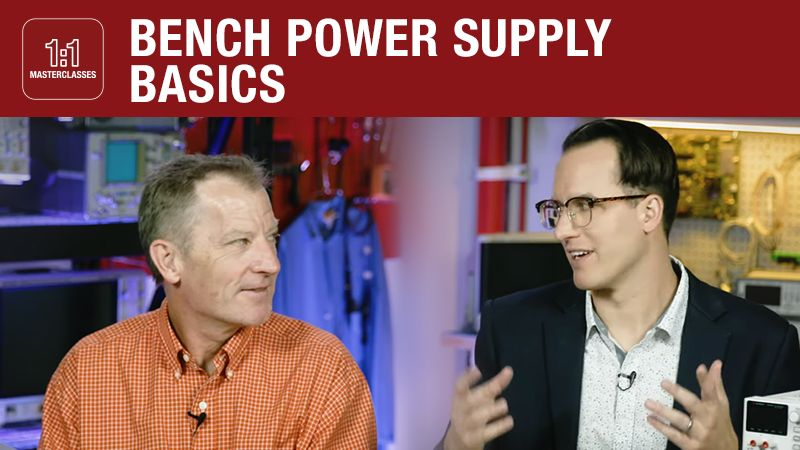 Bench Power Supply Basics – Masterclass