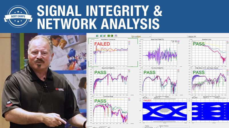 Signal Integrity Measurements and Network Analysis – Boot Camp