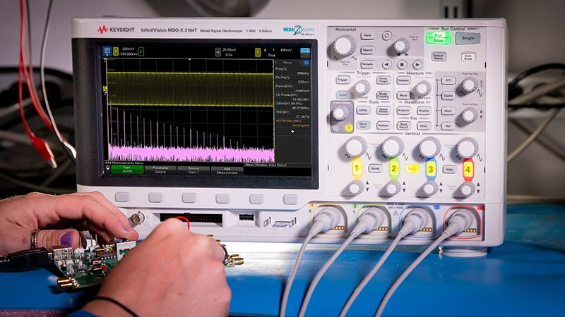 Debugging Serial Buses with an Oscilloscope