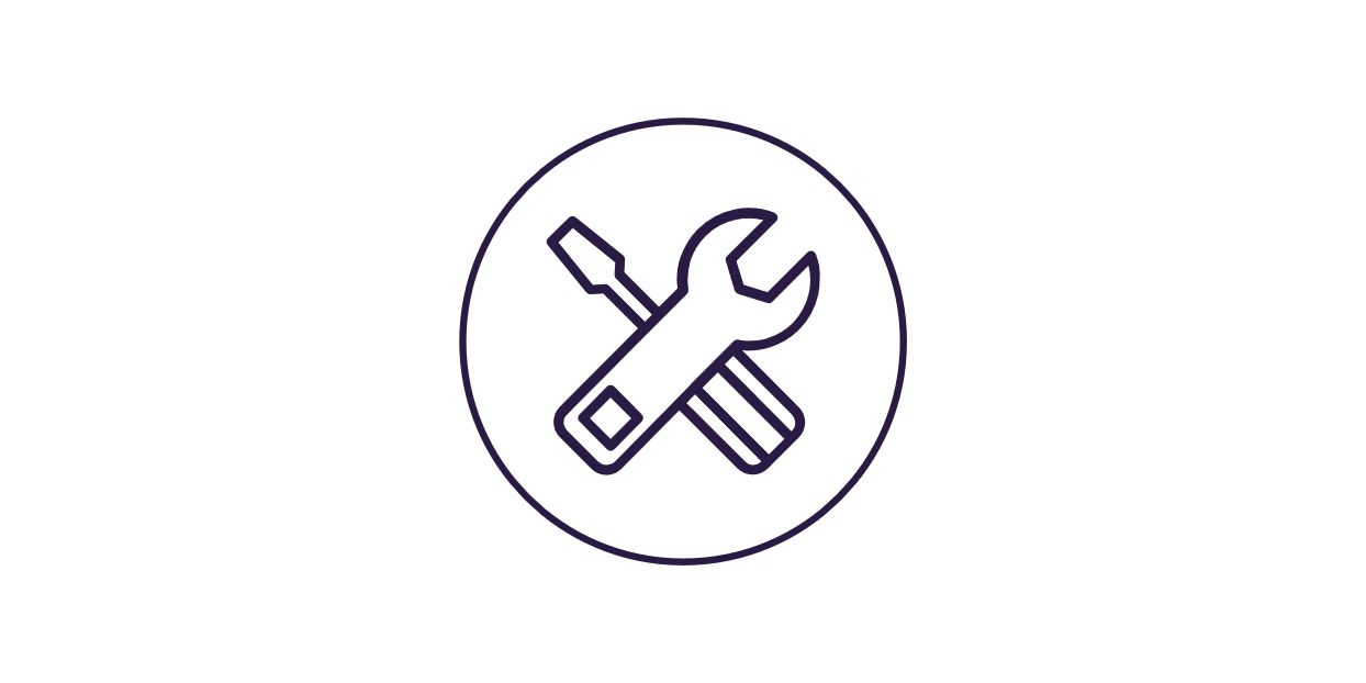 wrench/screwdriver icon