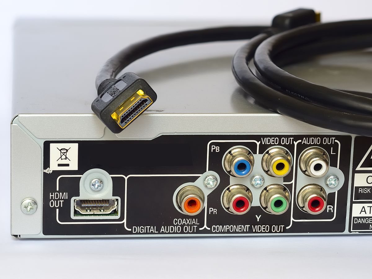 HDMI Interface and Cable Image