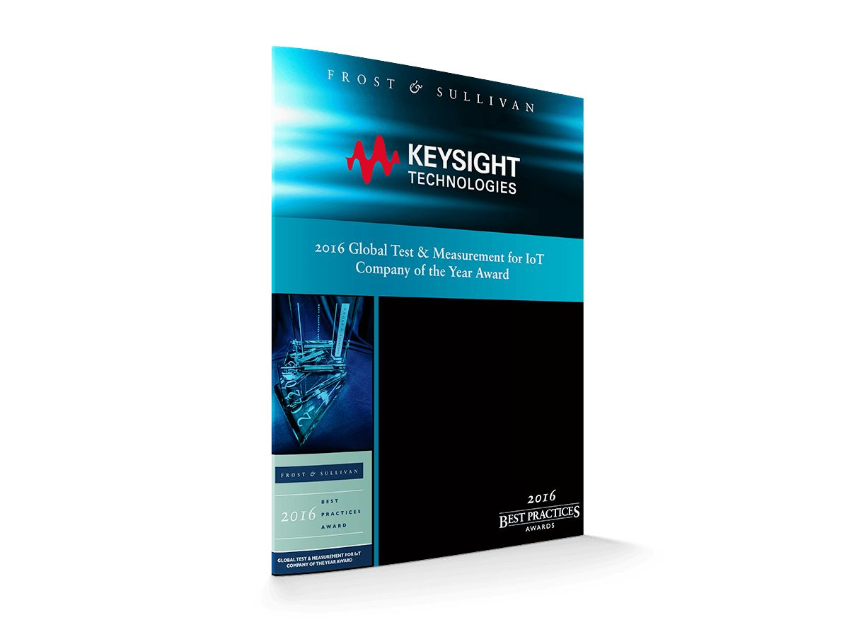 Keysight leadership in IoT test solutions