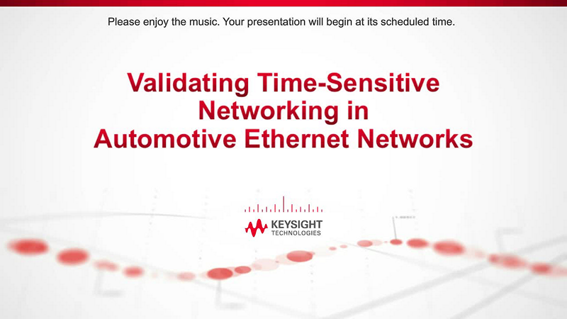 Validating Time-Sensitive Networking in Automotive Ethernet Networks