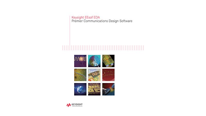 EEsof EDA Premier Communications Design Software