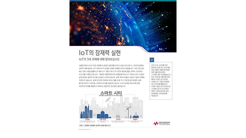 IoT의 잠재력 실현