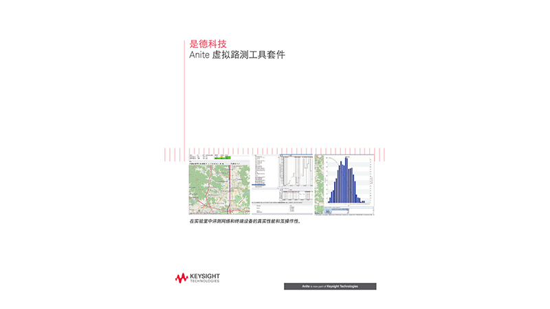 Anite Virtual Drive Testing Toolset